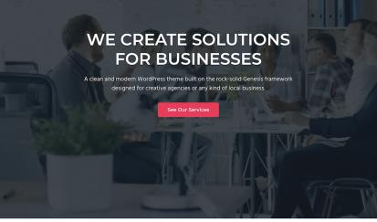 Genesis専用子テーマ『Business Pro』の特徴